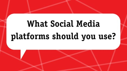 What social media platforms should you use
