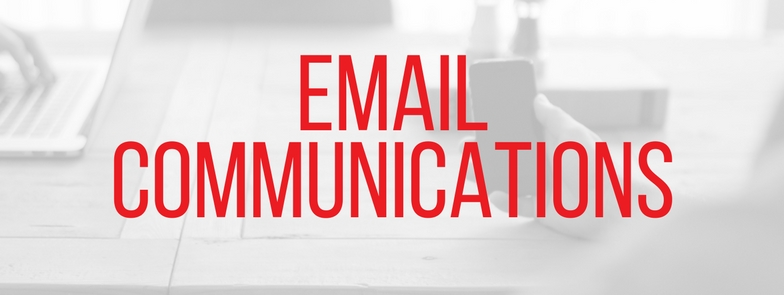 marketing packages - email communications