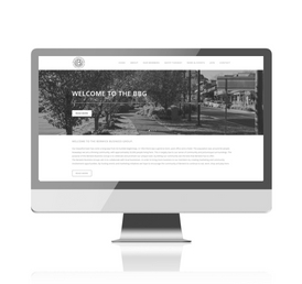 Berwick Business Group website redesign
