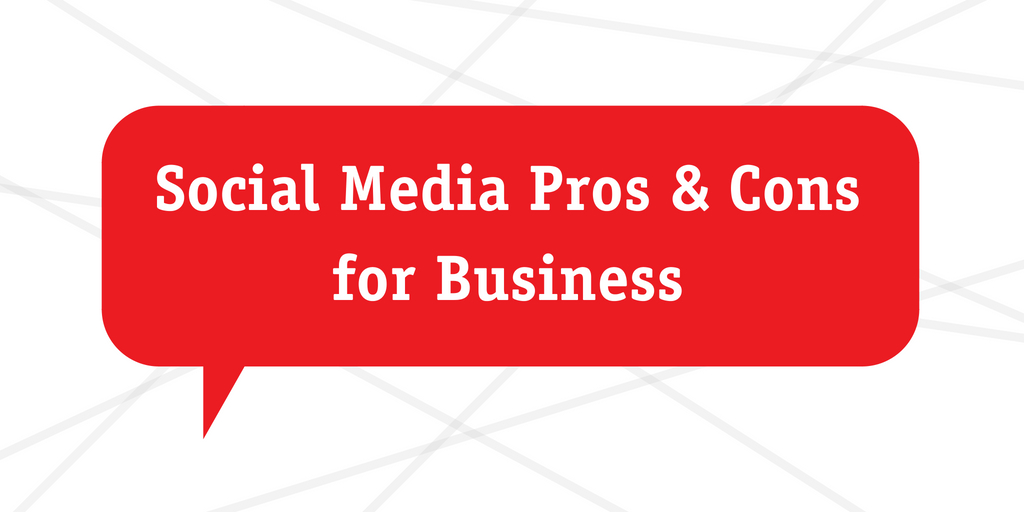 pros and cons of using social media
