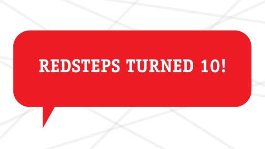 Redsteps Turned 10!