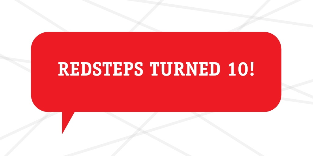 Redsteps Turned 10!