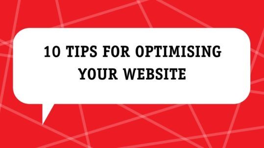 10 tips for optimising your website