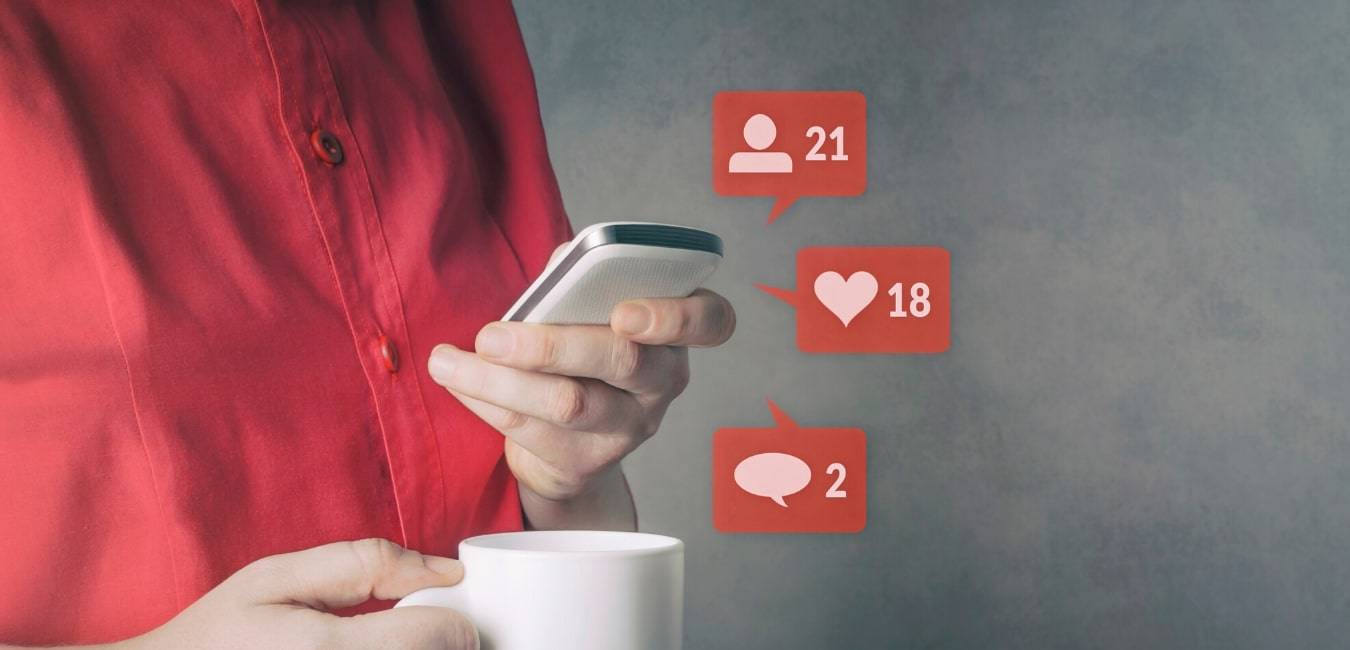 creating interactive social media posts helps customers engage with your brand
