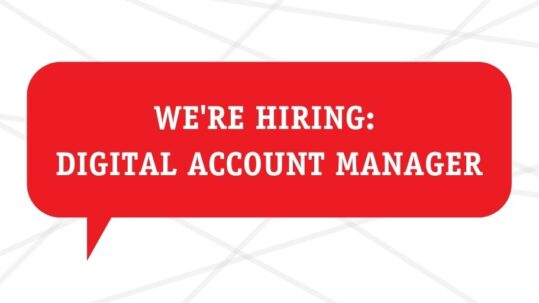 Digital account manager Melbourne job
