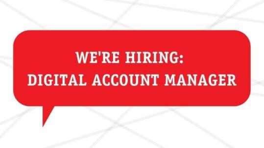 Digital account manager Melbourne job